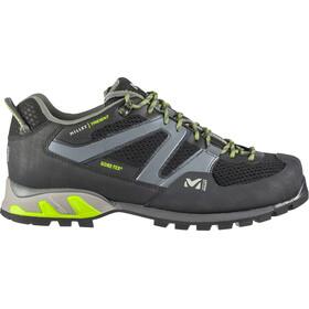 Millet Trident GTX Shoes Unisex, black/acid green